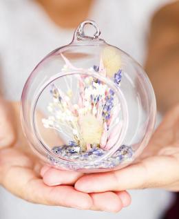 écrin fleurs séchées décoration raphael