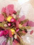 Bouquet de fleurs séchées collection Prune À Nos Fleurs Chéries